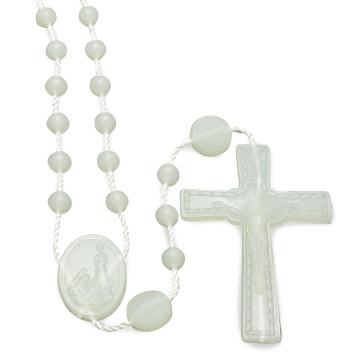 Blue Plastic Rosaries