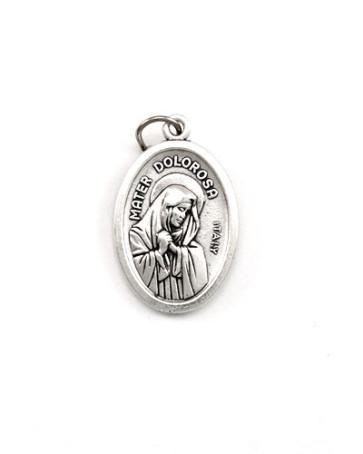 Mater Dolorosa - Ecce Homo Catholic Medal