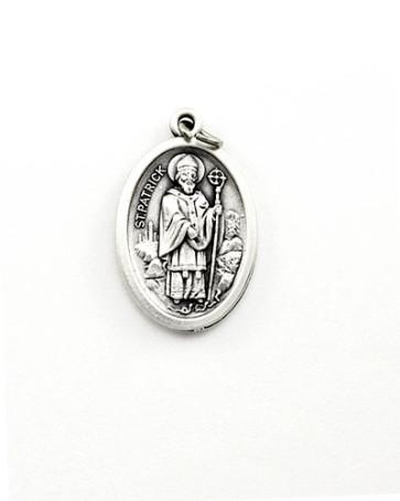 St. Patrick - St. Bridget Medal - Front