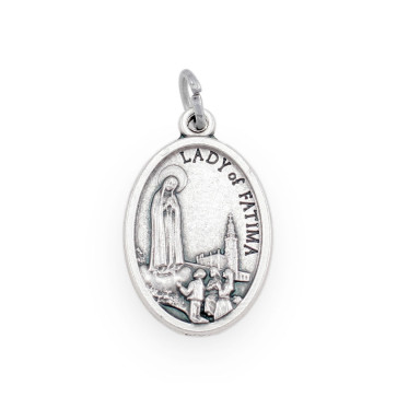 Our Lady of Fatima Medal - Front