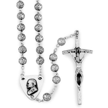 Rosebud Beads Papal Rosary