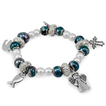 Life of Mary Rosary Bracelet