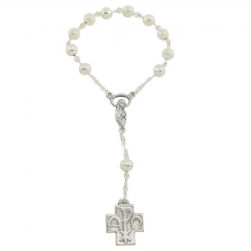Polished Finish One Decade Catholic Rosary