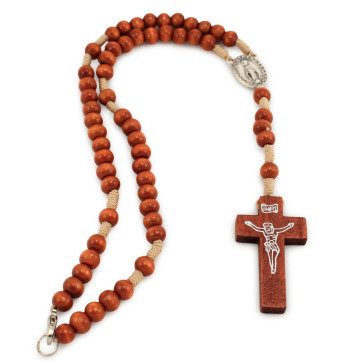 Miraculous Catholic Rosary with Clasp