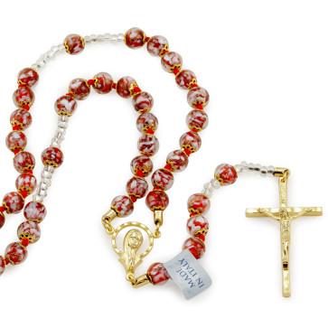 Rosary with Murano Glass Beads