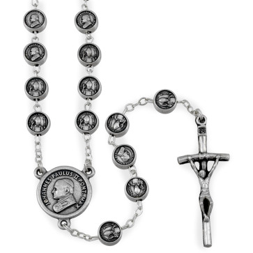 Pope John and Benedict XVI Catholic Rosary