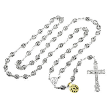 Crystal Beads Catholic Rosary
