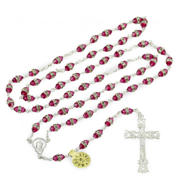 Swarovski Crystal Catholic Rosary