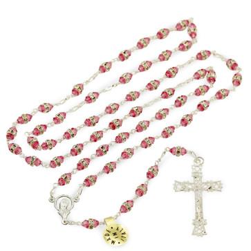 Swarovski Crystal Catholic Rosary