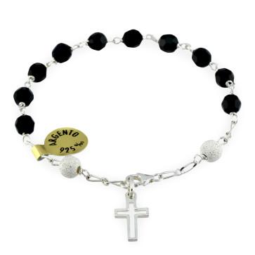 Swarovski Crystals Rosary Bracelet