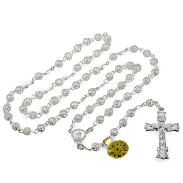 Sterling Silver Catholic Rosary