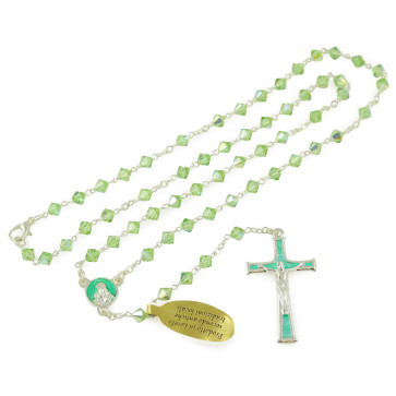 Swarovski Crystal Beads Rosary with Clasp
