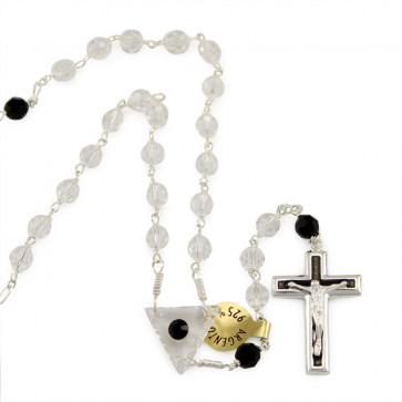 Catholic Swarovski Crystal Beads Rosary