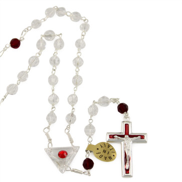 Swarovski Crystal Beads Catholic Rosary