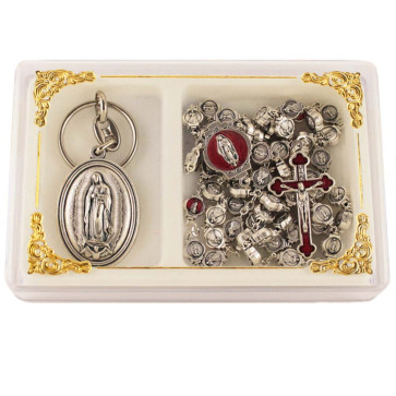 Our Lady Of Guadalupe Catholic Rosary Gift Set