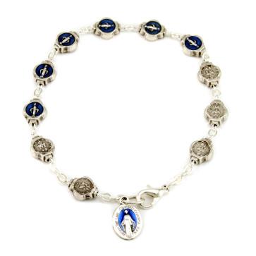 Our Lady of Miracles Rosary Catholic Bracelet