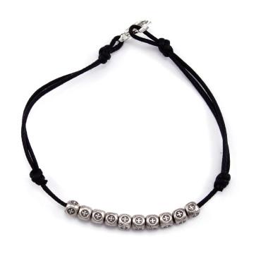 Catholic Cube Beads Rosary Bracelet