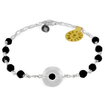 Swarovski Miraculous Catholic Rosary Bracelet