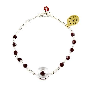 Swarovski Miraculous Cathoic Rosary Bracelet