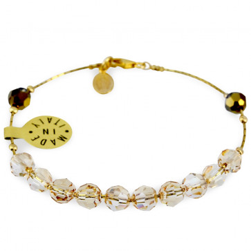 Rosary Bracelet Swarovski Beads