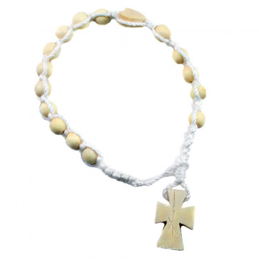 Rosary Bracelets with wooden beads