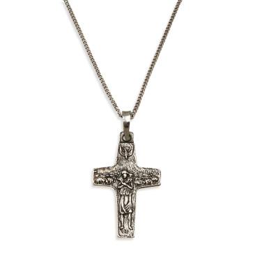Sterling Silver Vedele Cross