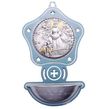 Catholic Guardian Angel Holy Water Font