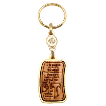 Keychain with Canticle of the Creatures