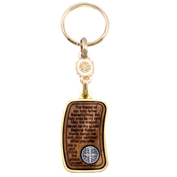 Keychain St. Benedict Medal