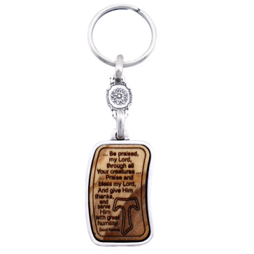 Keychain The Canticle of Creatures