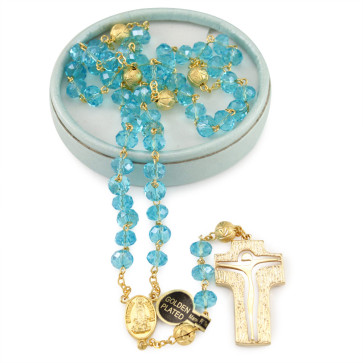 Lady of Fatima Crystal Rosary
