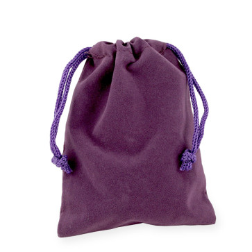 Purple Rosary Pouch