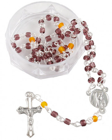 Glass Beads Rosaries with Box