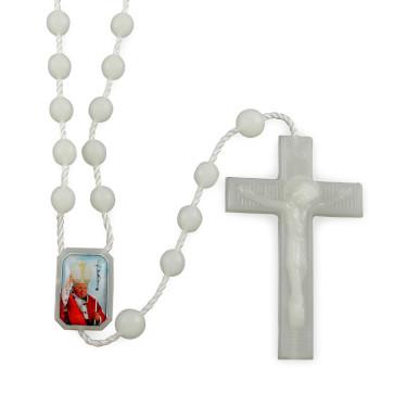 Scented Phosphorus Pope John Paul II Rosary