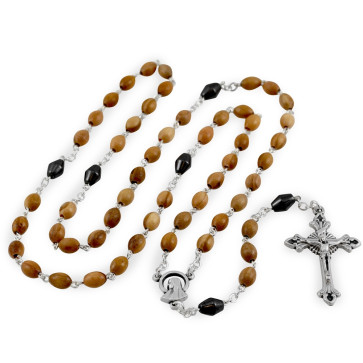 Olive Wood Beads Rosary