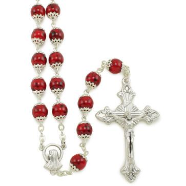 Sunstone Beads Catholic Rosary