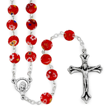 Murano Beads Catholic Rosary