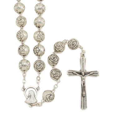 Rosebud Beads Rosary