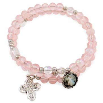 Divine Mercy Wrap Around Rosary Catholic Bracelet