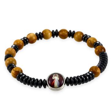 Divine Mercy Rosary Bracelet