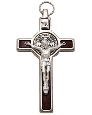 St. Benedict Hanging Crucifix
