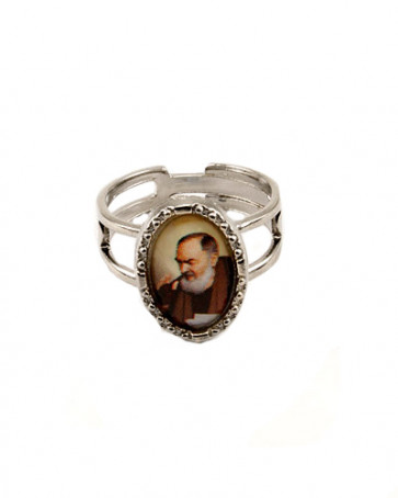Padre Pio Catholic Ring
