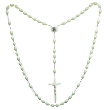 Phosphorus Beads Wall Rosary