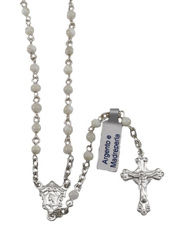 Mother of Pearl Beards Rosary