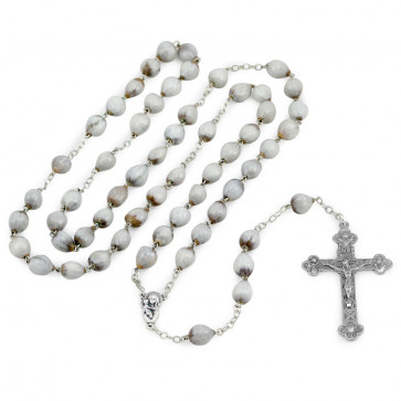 Bladdernut Beads Catholic Rosary