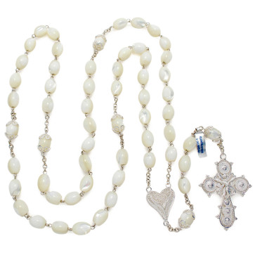 Mother of Pearl Catholic Rosary