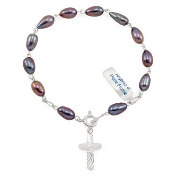 Pearl Beads Rosary Bracelet
