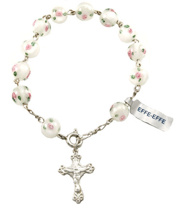 Hand Designed Beads Rosary Catholic Bracelet