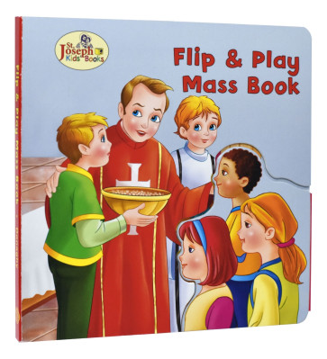 St. Joseph Flip & Play Mass Book