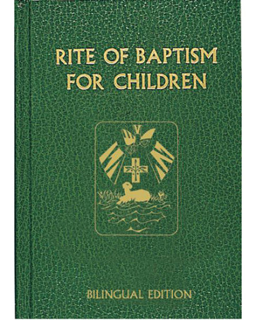 Rite of Baptism for Children Book